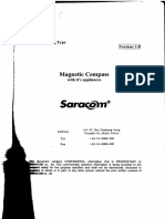 Magnetic Compass Saracom mc 180