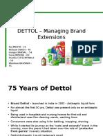 Dettol Brand analysis