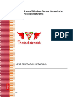 Master Thesis on NGN and WSN full Report