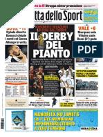 La Gazzetta Dello Sport Con Edizioni Locali 24 Aprile 2017