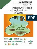 Plantio de Açaizeiro cupuaçuzeiro e formação de pomar em quintais.pdf