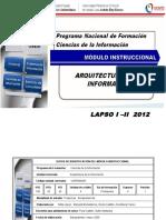Arquitectura de La Información_módulo Instruccional 2012