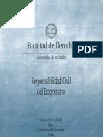 Cuaderno de Extensión Jurídica N° 1 Responsabilidad Civil del Empresario