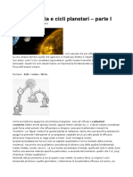 Cronobiologia e Cicli Planetari
