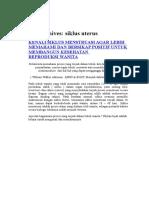 Siklus Ovarium Dan Uterus