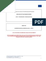 ANEXO XIII - Modelo de Acuerdo de Nivel de Servicio - SLA (Lote 2)