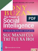 Sức mạnh của trí tuệ xã hội (Tony Buzan) pdf - tải ebook free