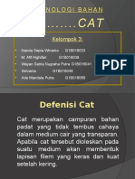 Teknologi Bahan Cat
