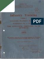 infantry training antitank grenade no.94 1953