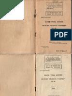British Military Training Pamphlet  Anti-Tank Mines 1939