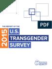Report of the 2015 US Transgender Survey from the National Center for Transgender Equality