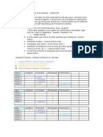 RYT Production Schedule and Calendar – 2008