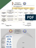 School Action Plan in Science