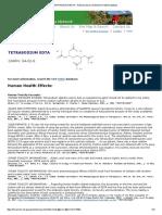 TETRASODIUM EDTA - National Library of Medicine HSDB Database