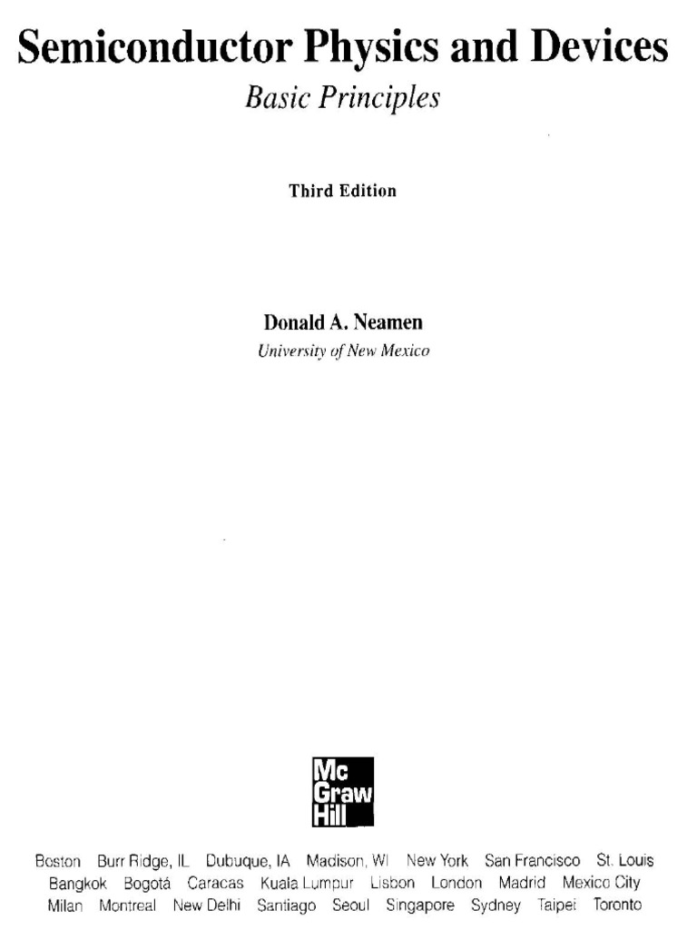 [Donald a.neamen] Semiconductor Physics and Devices Basic Principles (3rd  Ed)