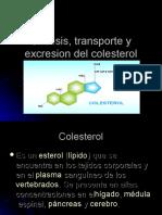 Sintesis, Transporte y Excresion de Colesterol,Lipoproteinas.harvey.