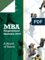 INSEAD Mba Employment Statistics