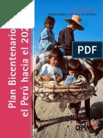 Plan Bicentenario El Perua Al 2021 Eje 2