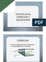 Tecnologia Stripline y Microstrip