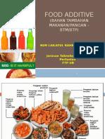 PPT Bahan Tambahan Makanan
