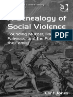 Keohane, Kieran; Petersen, Anders a Genealogy of Social Violence Founding Murder, Rawlsian Fairness, And the Future of the Family