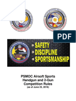 PSMOC Airsfot Sports Rulebook -As of June 23, 2016