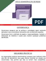 Aula 1 - Gerenciamento e Administração de Redes