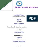 TAREA VII GESTION HUMANA CARMELINA MEDINA.docx