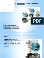 Calibracion Transmisor Presion Diferencial
