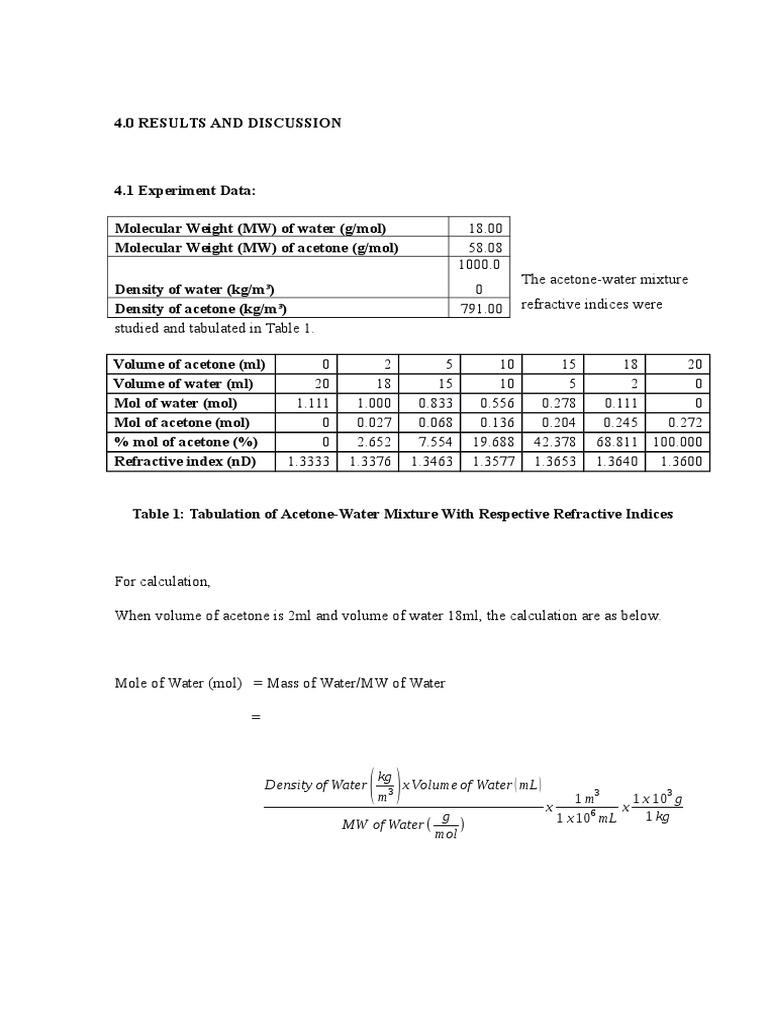 Result Seperation Lab Expt 7 | Distillation (49 views)