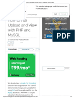 How to File Upload and View With PHP and MySQL _ Coding Cage