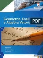 Geometria Analitica Algebra Vetorial