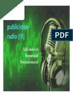 Genurile Publicistice Radio (3)