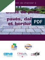 Carnets de Chantier CERIB Bordures Paves Et Dalles