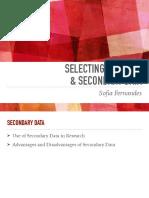 Week 6 - Selecting Samples_ Secondary Data PDF