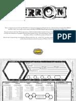 Eberron Character Sheet Document