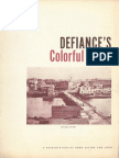 DEFIANCE'S [OHIO] COLORFUL PAST, by Robert B. Boehm, Prof. of History, Defiance College