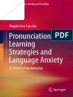 Magdalena Szyszka (Auth.)Pronunciation Learning Strategies and Language Anxiety; in Search of an Interplay-Springer International Publishing (2017)
