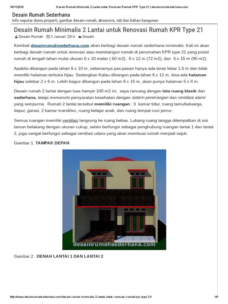 96+ Gambar Rumah Minimalis 2 Lantai Dan Rab HD