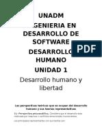 Desarrollo Humano y Libertad
