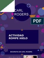 Power Point sobre la Teoria Humanista de Carl Rogers.