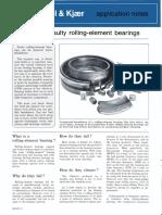 Detecting Faulty Rolling-element Bearings
