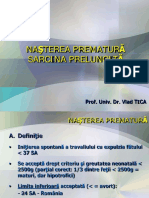 Curs 7 OG - Sarcina Prematura.nasterea Prelungita