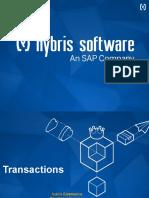 Hybris Commerce Developer Training 1.09 - Transactions