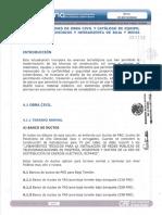 Especificacionesdeobracivilycatalogodeequipomaterialesaccesoriosyherramientadebajaymediatension CFE.pdf