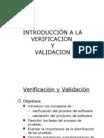 Verificacion y Validacion