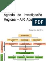 Agenda Investigación Regional Apurimac