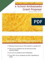 ssa grant proposal