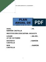 Plan Anual de Trabajo 2017
