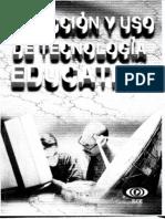 Cap.1 Selección y uso de tecnología educativa Escamilla